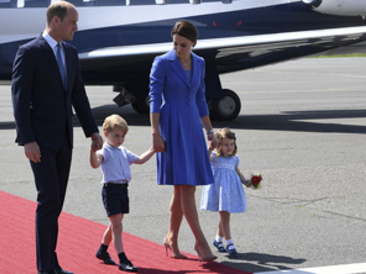El príncipe William inicia su visita familiar a Alemania