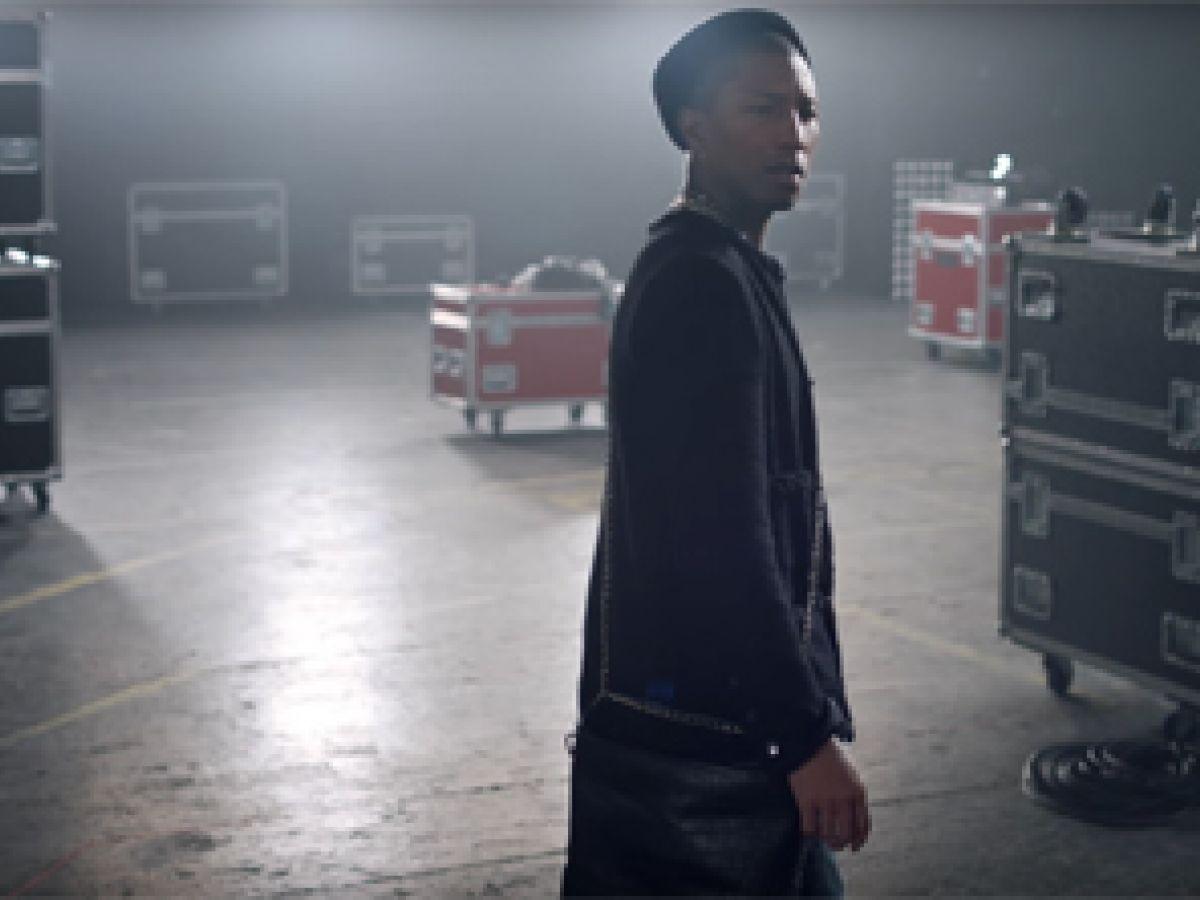 Pharrell Williams, el primer hombre en una campaña de carteras de Chanel