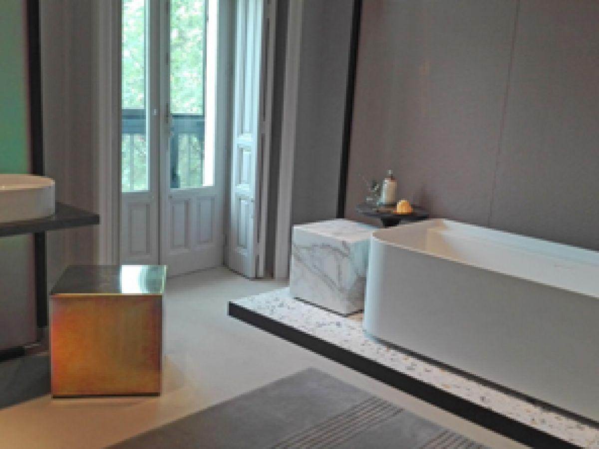 """Blancos y elegantes, nuevo """"look"""" para el baño"""