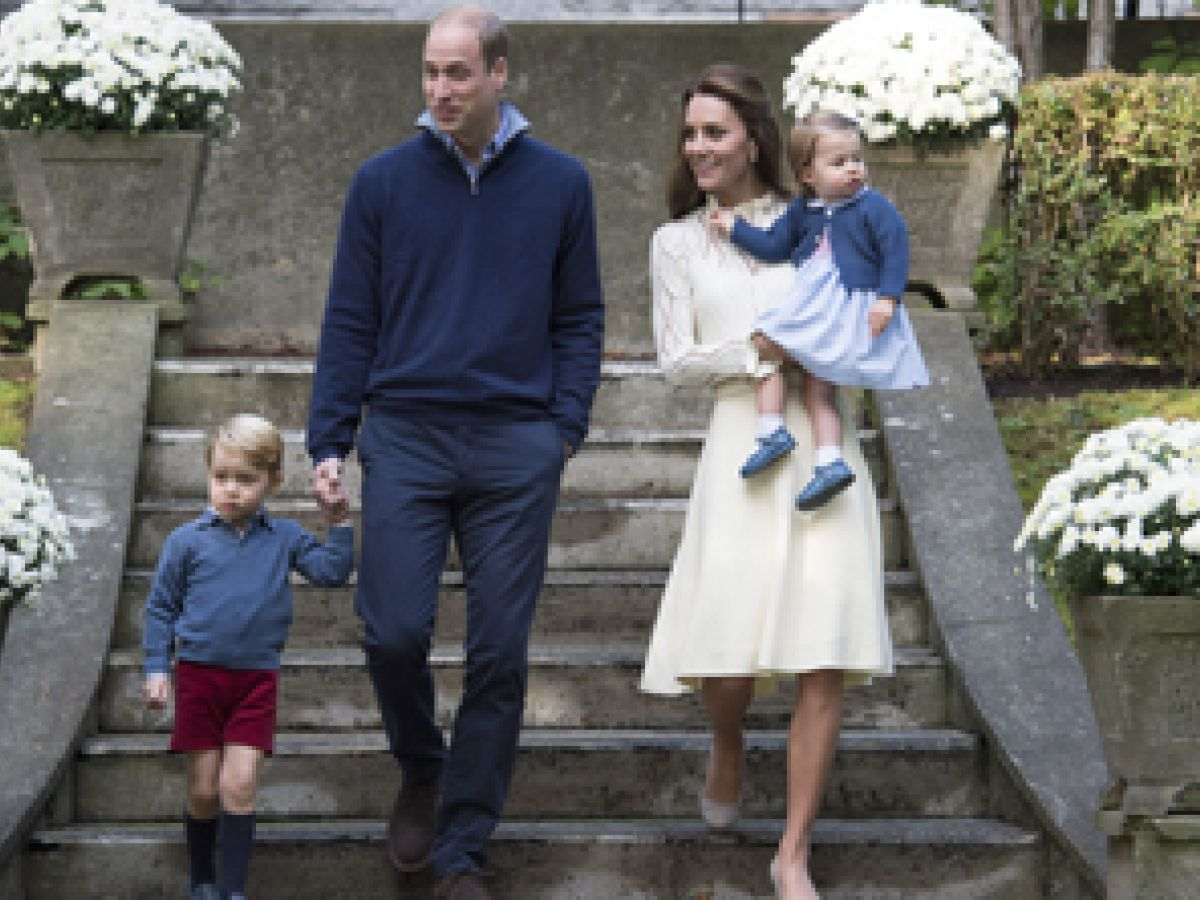 George y Charlotte acompañarán a sus padres en gira por Europa