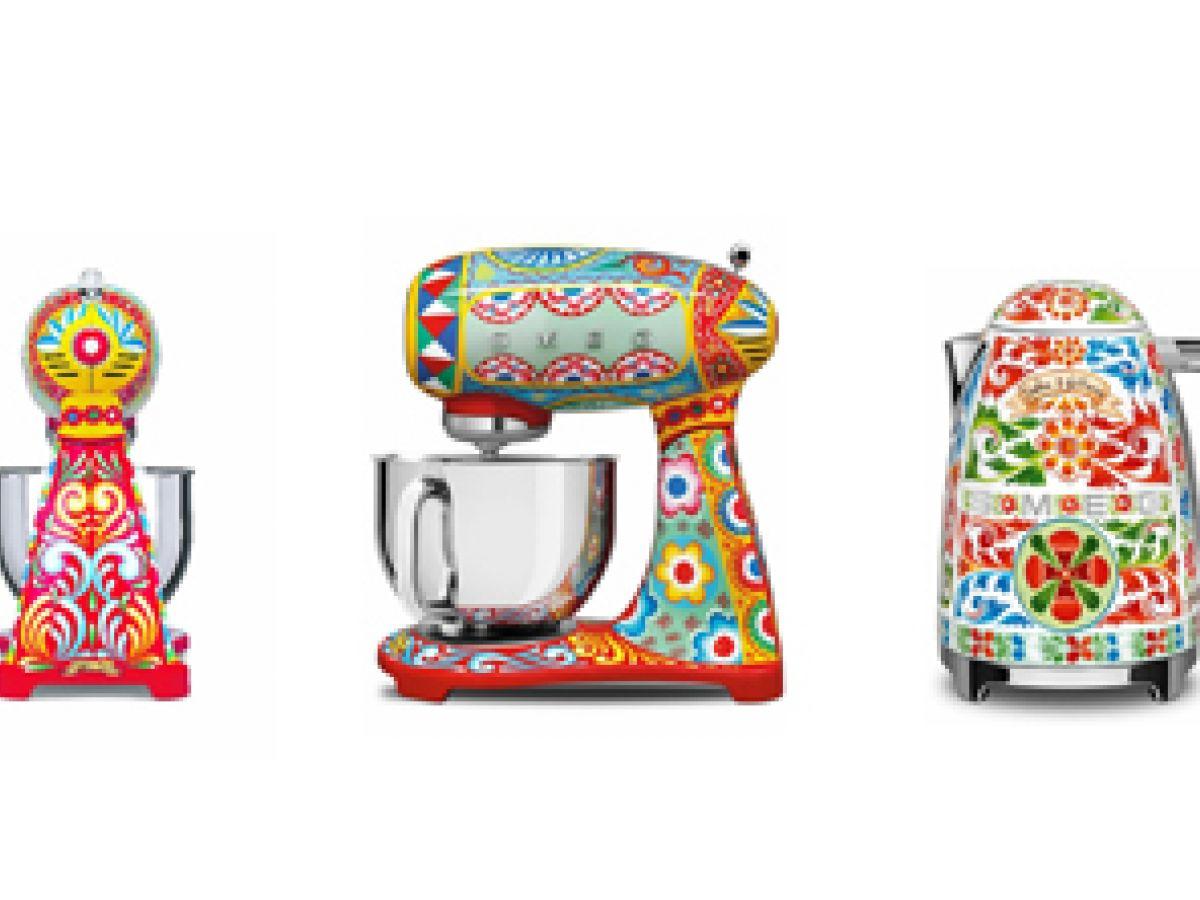 Electrodomésticos se visten de Dolce & Gabbana