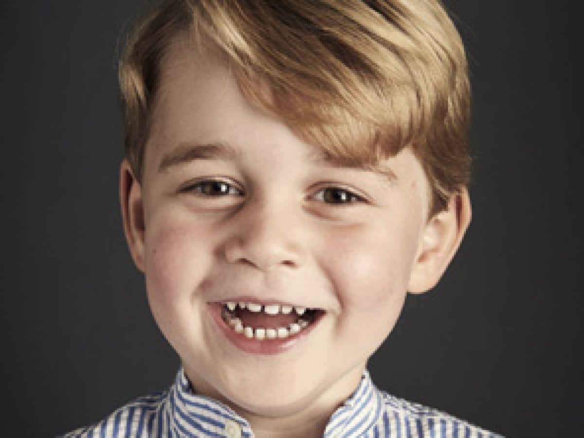 Difunden un nuevo retrato oficial del príncipe George por su cuarto cumpleaños