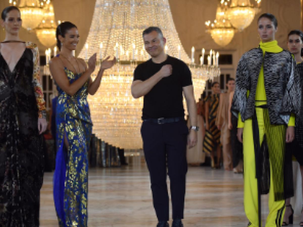 5 elementos claves en el desfile de Gustavo Arango