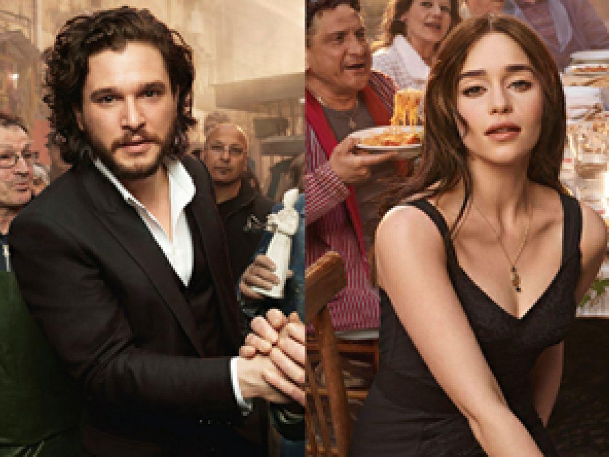 Emilia Clarke y Kit Harington: nuevas caras de Dolce & Gabbana