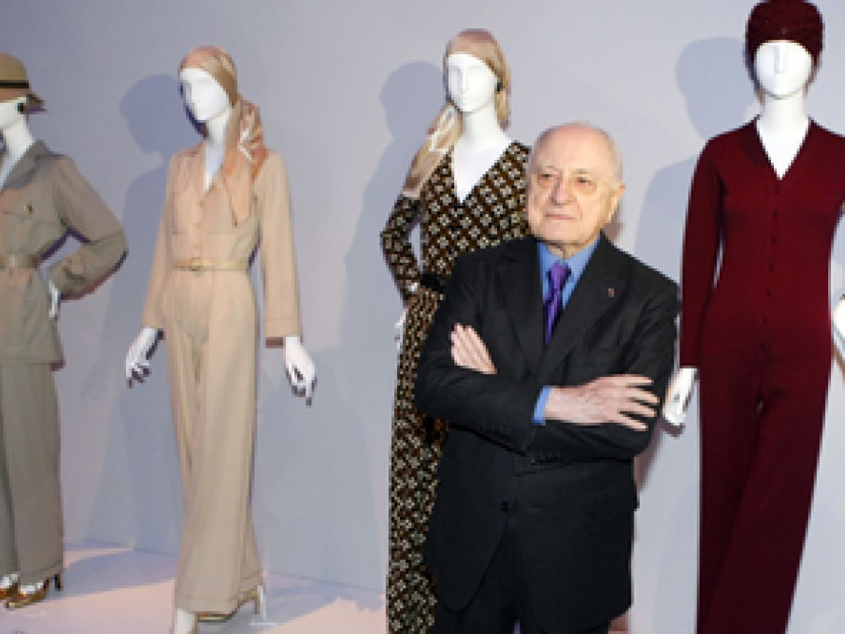 Muere Pierre Berge, socio y pareja de Yves Saint Laurent