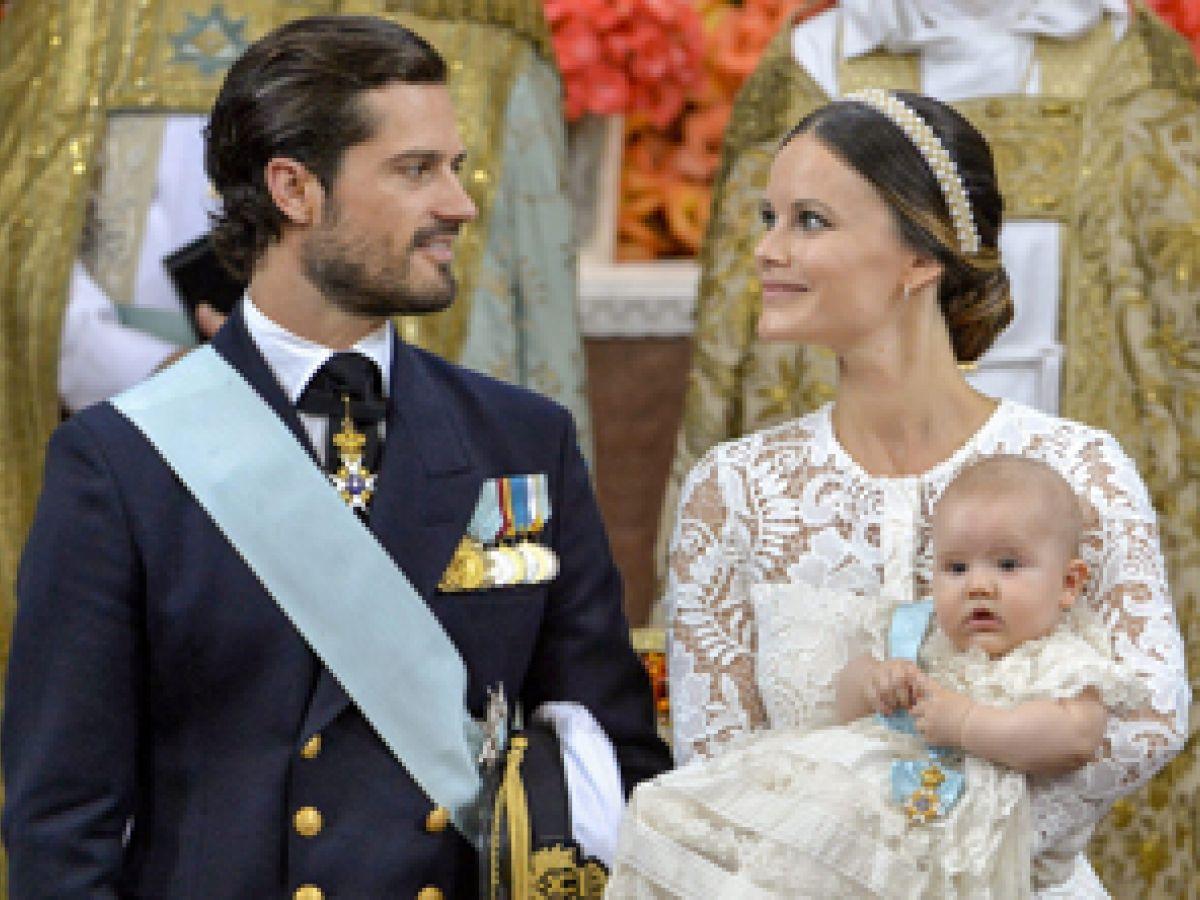 La princesa Sofía de Suecia da a luz a su segundo hijo