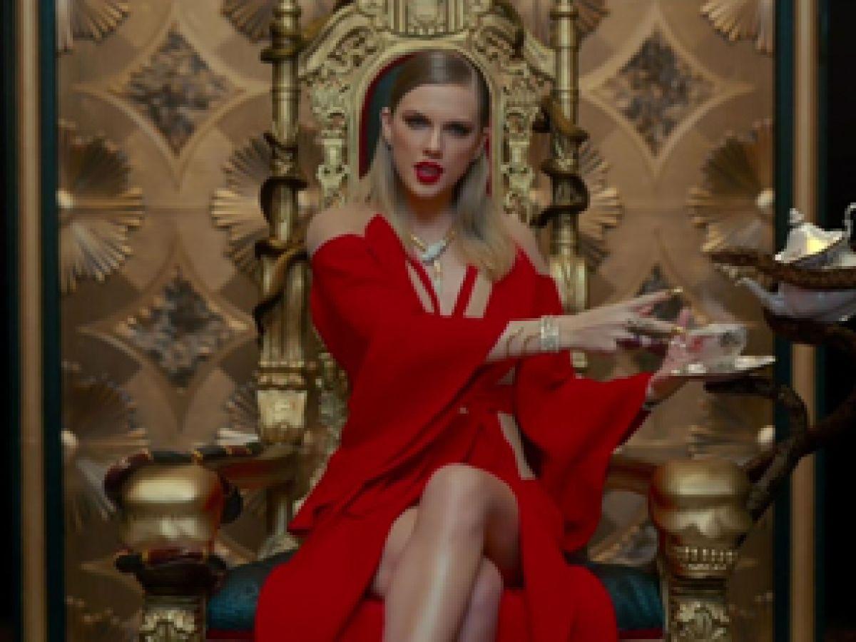 Taylor Swift luce joyas de Bulgari en su último vídeo