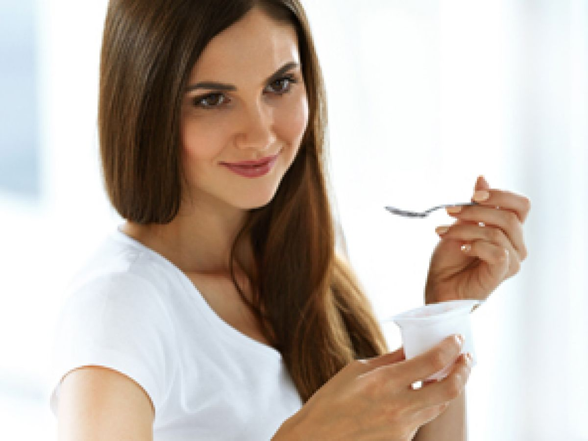 Consume yogur diariamente para verte y sentirte bien