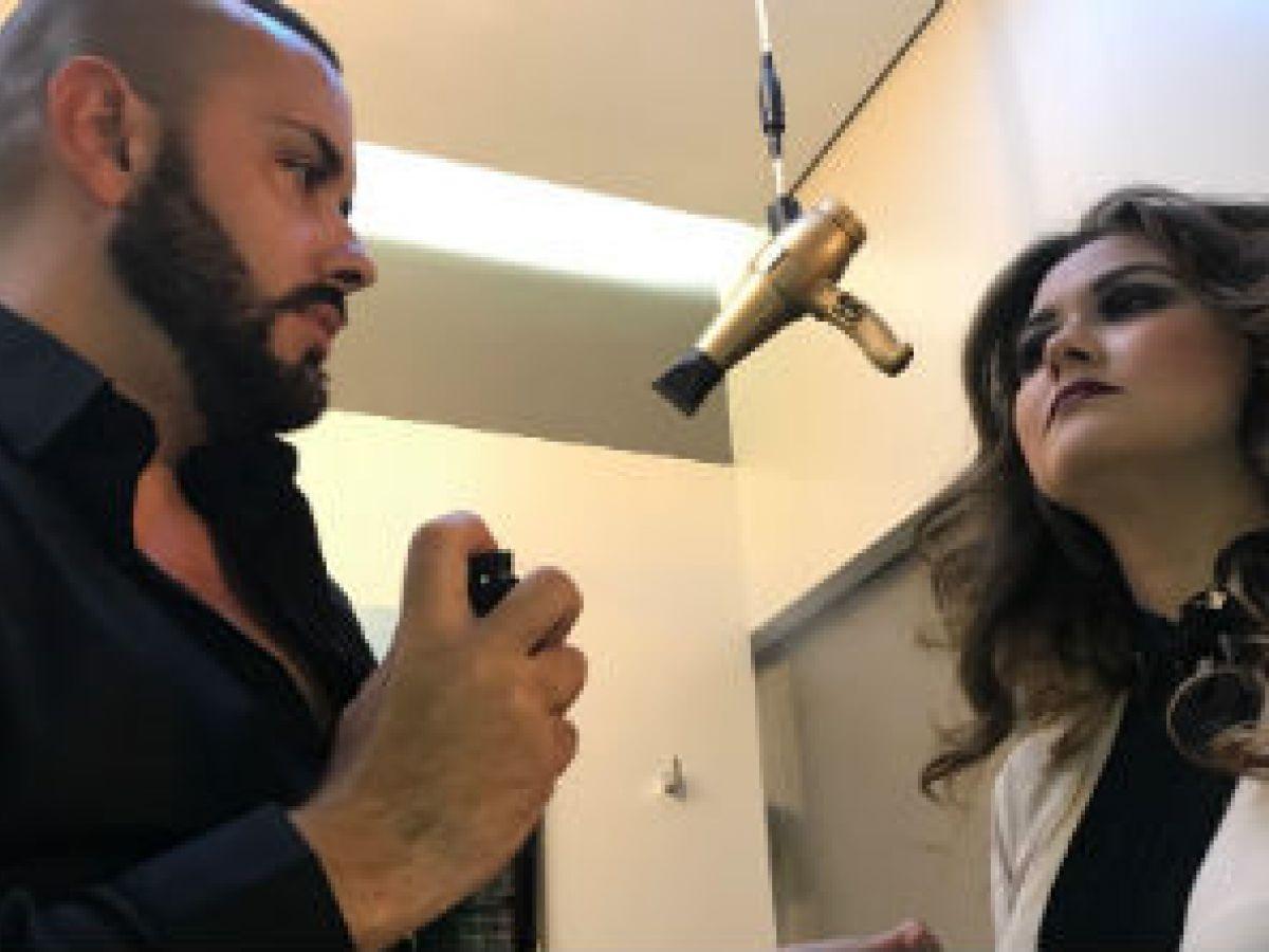 Abraham Salón presenta estilos de cabello para fin de año