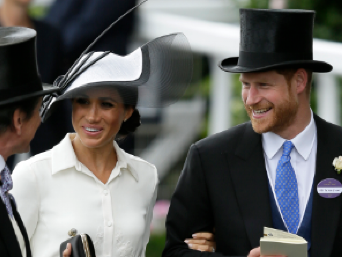 Los duques de Sussex asisten por primera vez juntos a Ascot