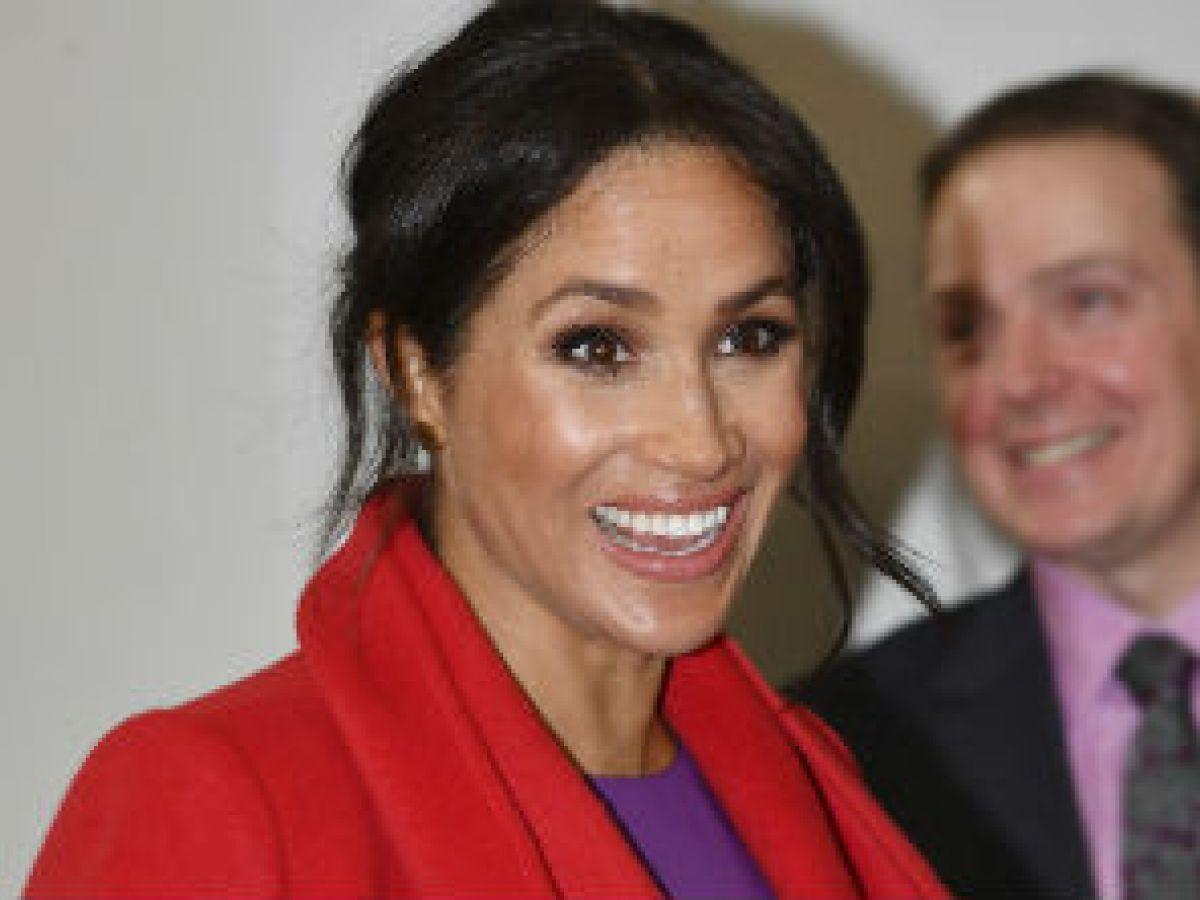 Meghan Markle revela cuándo espera su primer hijo con el príncipe Harry