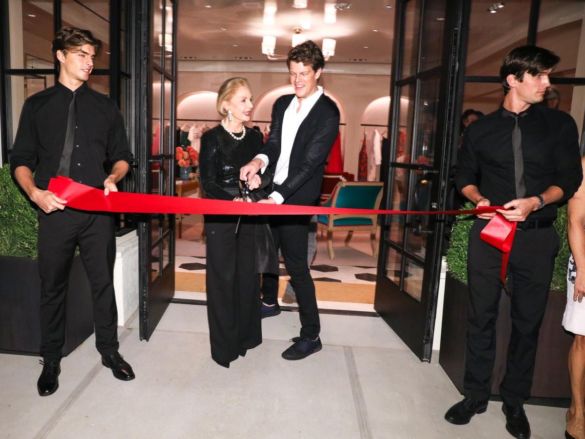 """Carolina Herrera presenta nueva boutique y concepto """"retail""""en la Avenida Madison de Nueva York"""