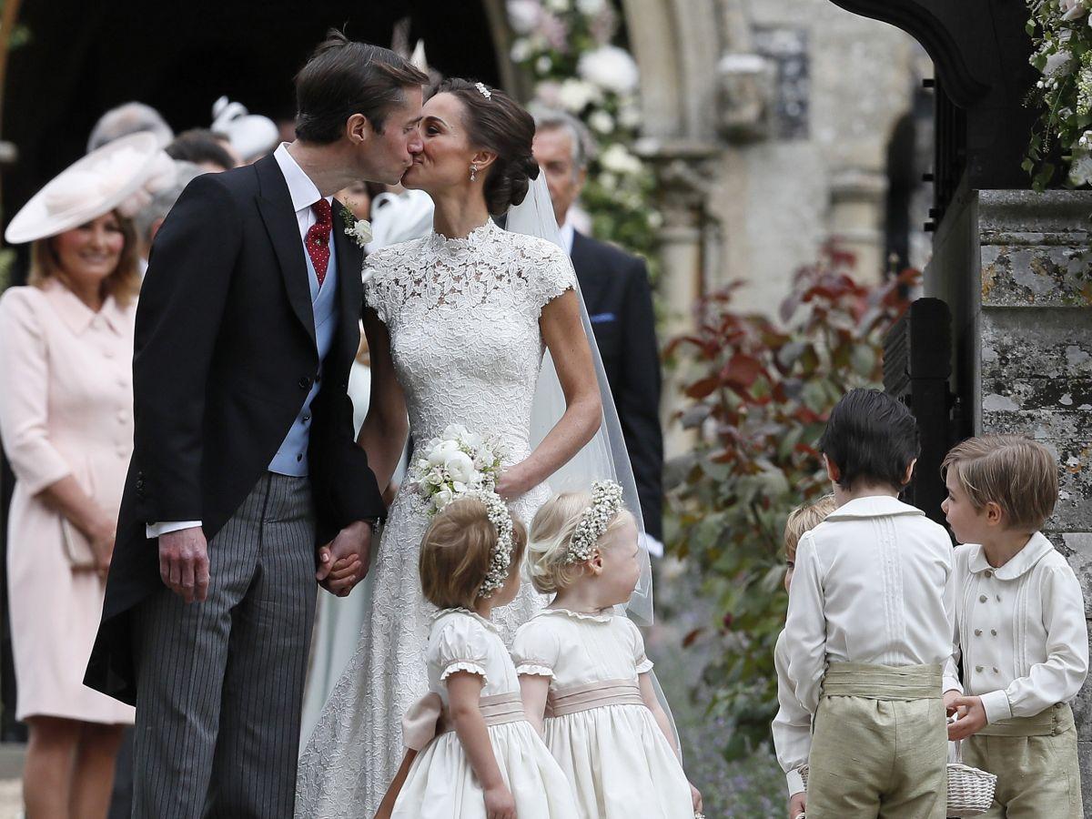 Pippa Middleton se casa con el banquero James Matthews
