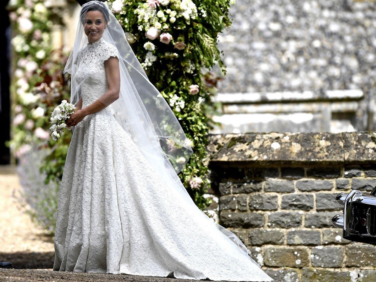 Todo sobre el vestido de Pippa Middleton