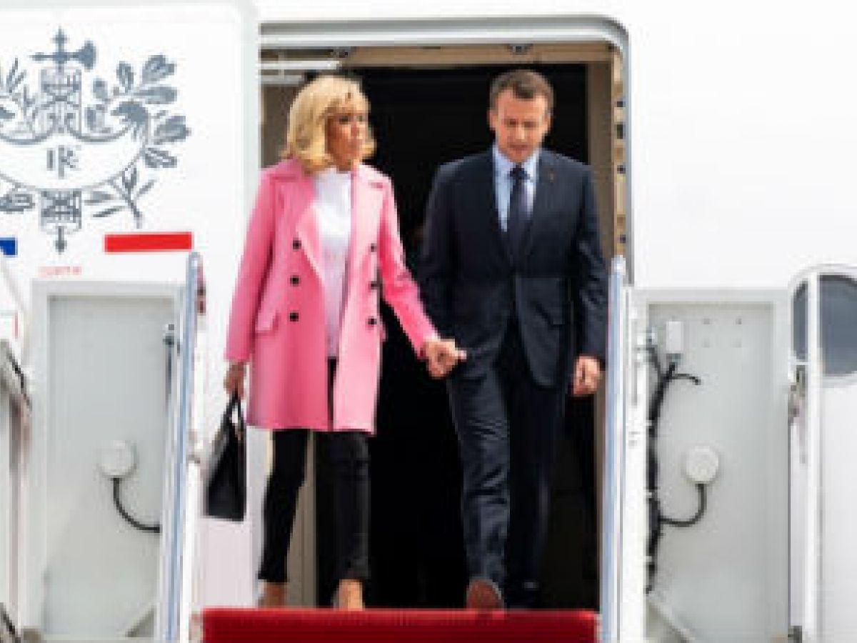 """Los """"looks"""" de Brigitte Macron en su visita a Estados Unidos"""