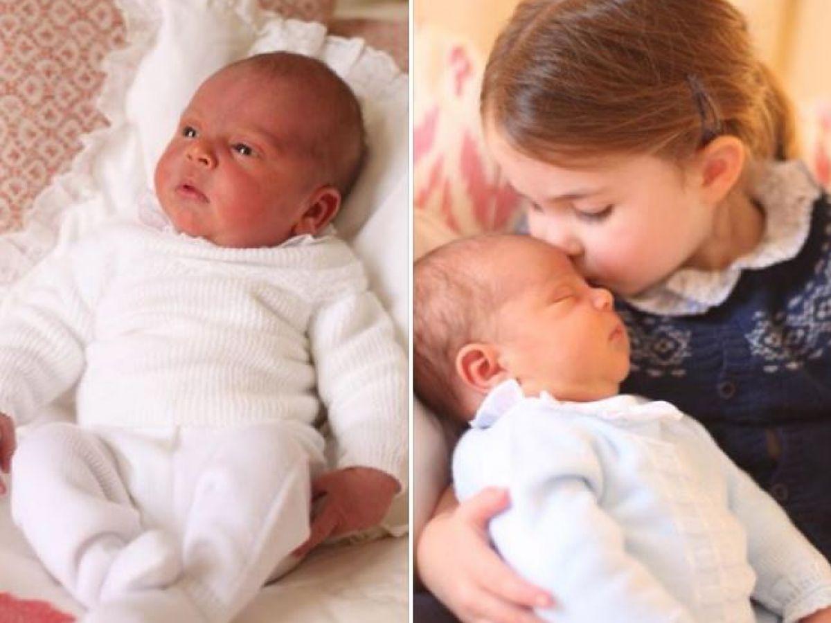 Comparten tiernas imágenes del príncipe Louis Arthur Charles