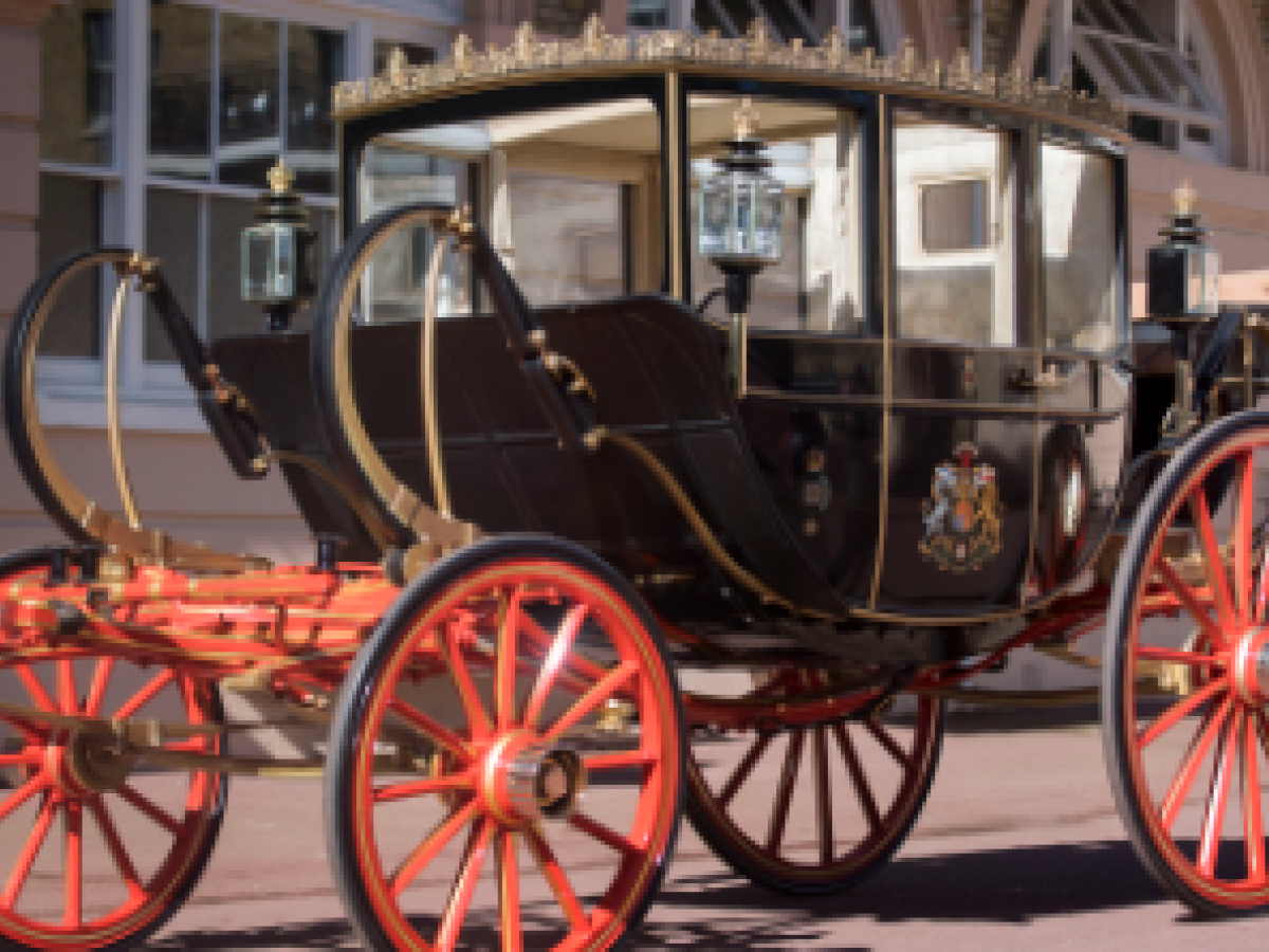 El palacio de Kensington anuncia el carruaje de la boda de Harry y Meghan
