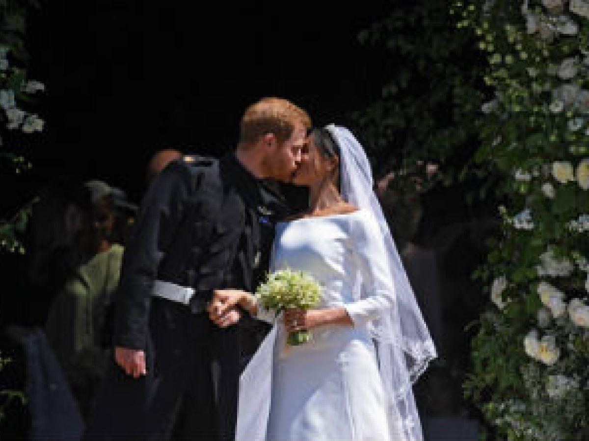 Se casan ante millones de espectadores el príncipe Harry y Meghan Markle