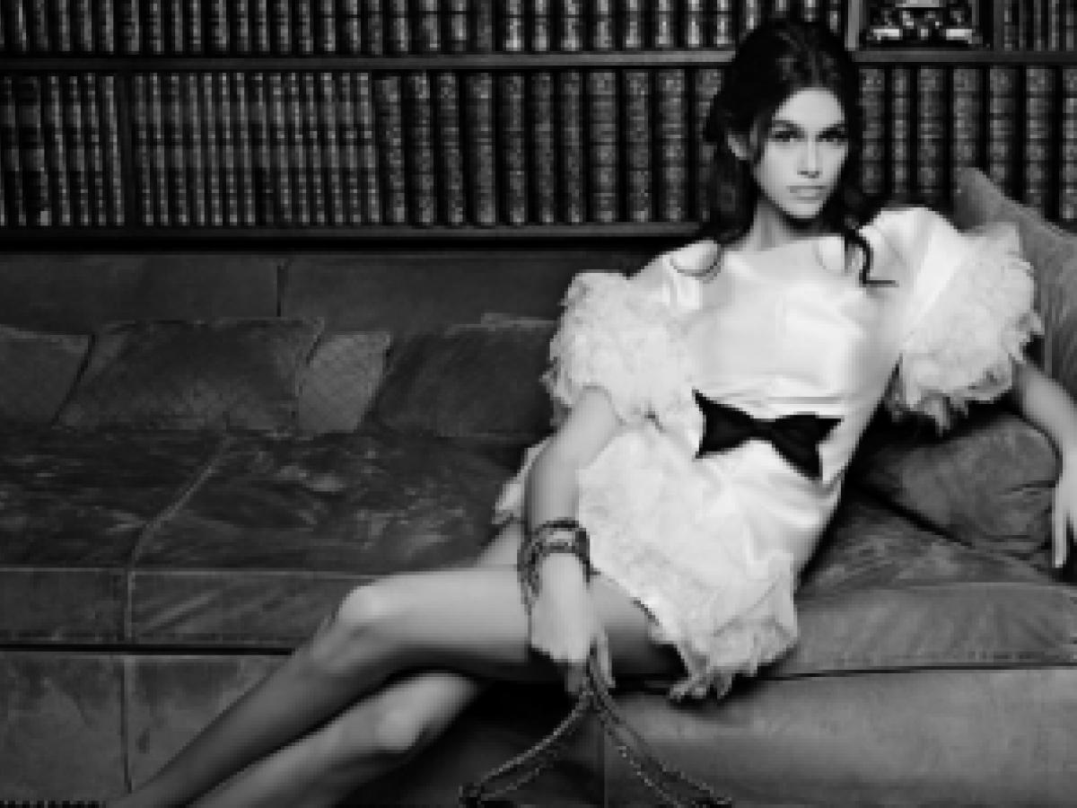 Kaia Gerber es elegida para la nueva campaña de Chanel