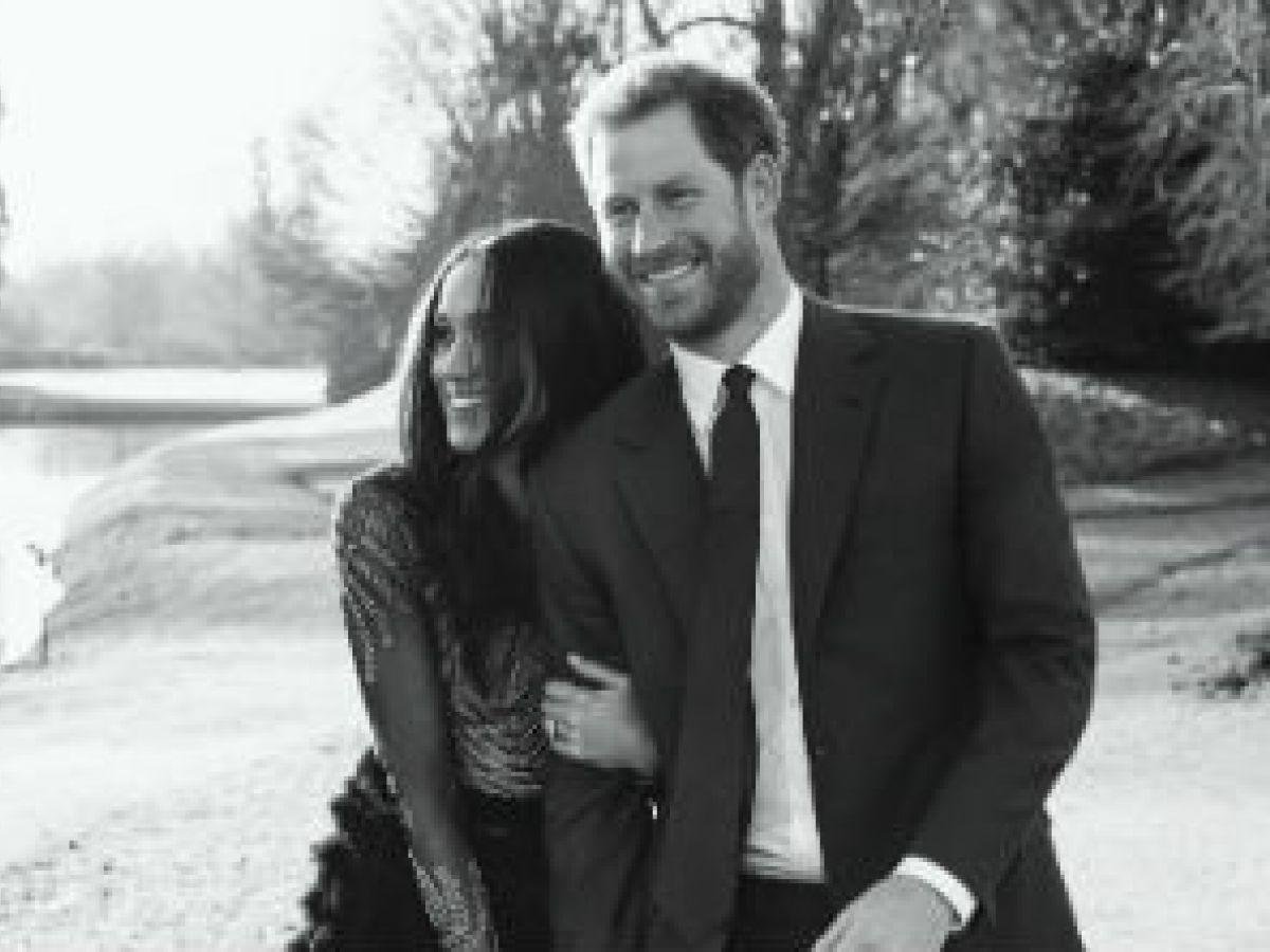Presentan las fotos oficiales del compromiso del príncipe Harry y Meghan Markle