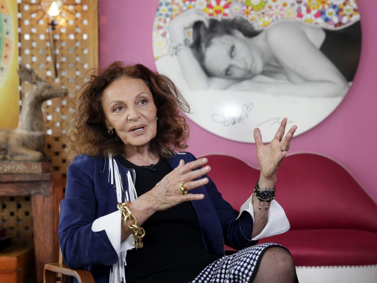 Diane von Furstenberg busca recaudar $100 millones