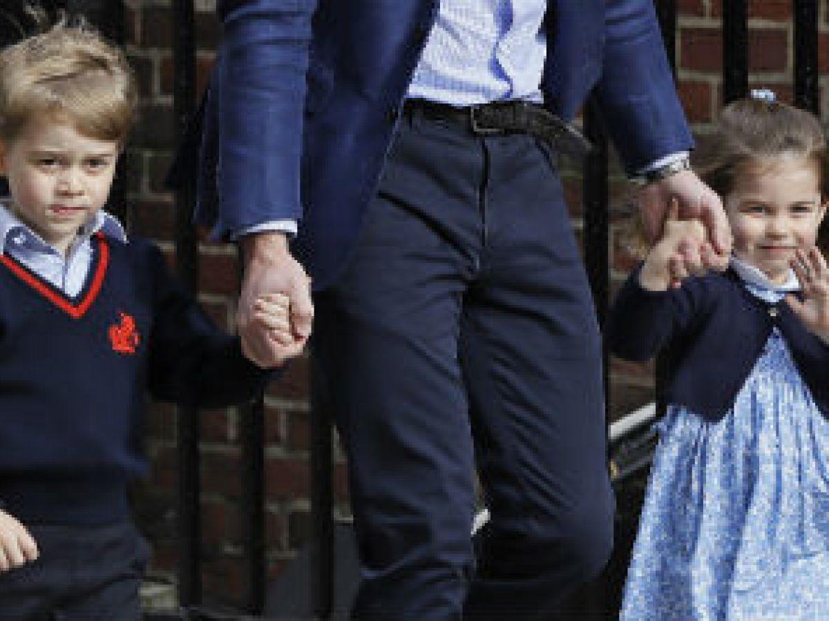 George y Charlotte serán pajes en la boda de la princesa Eugenie