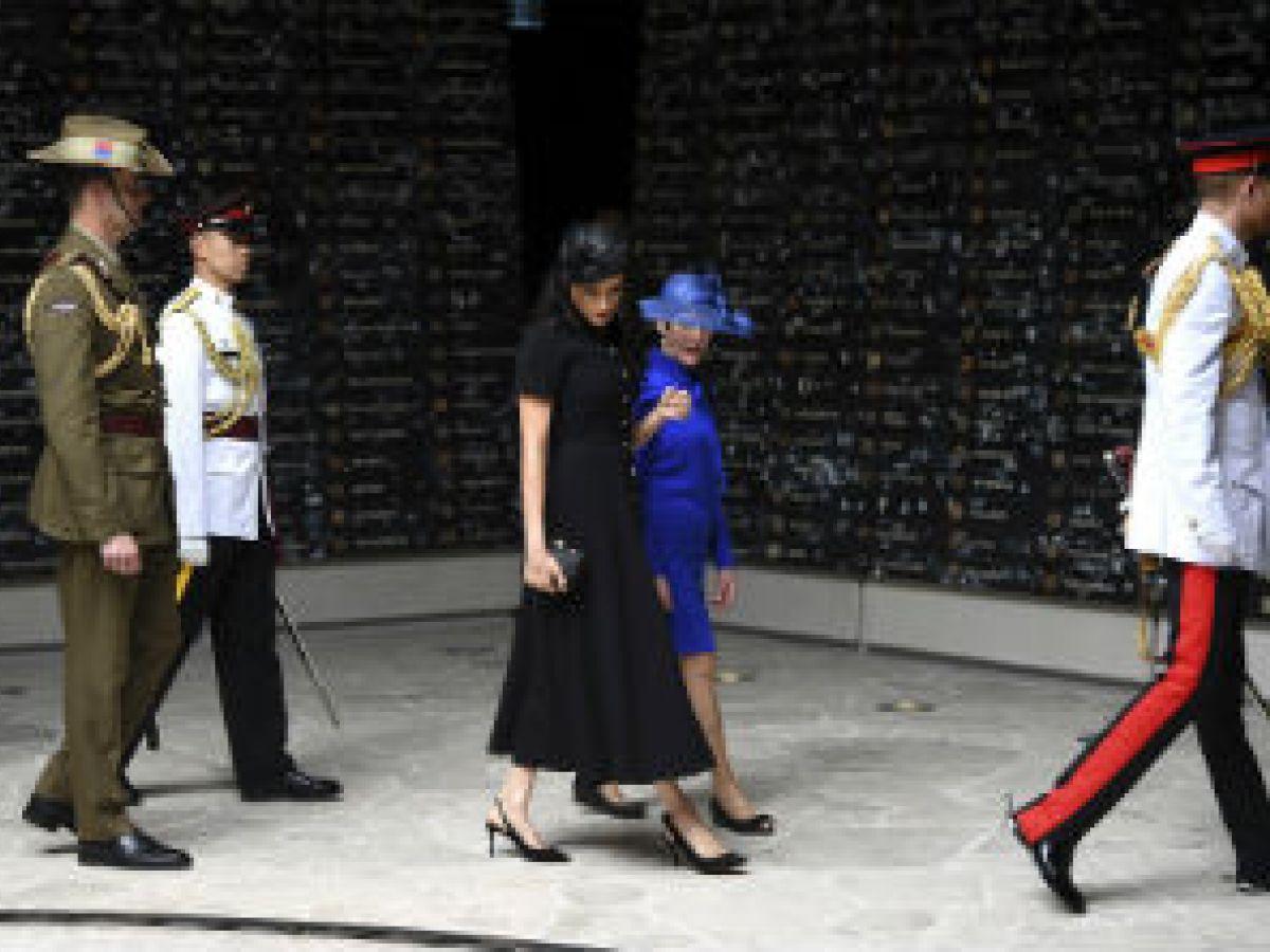 El príncipe Harry inaugura memorial de guerra en Sydney