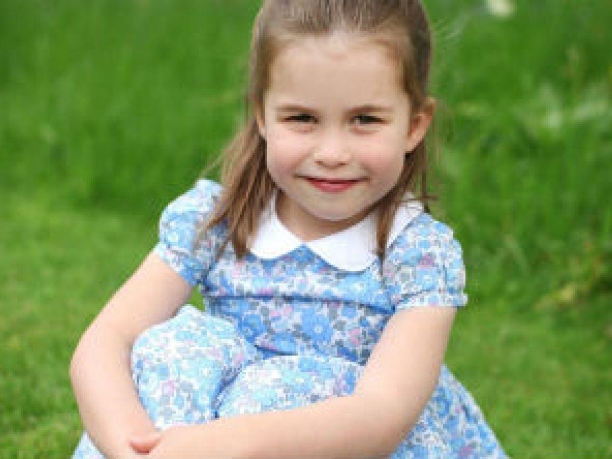 Nuevas fotos marcan el cuarto cumpleaños de la princesa Charlotte