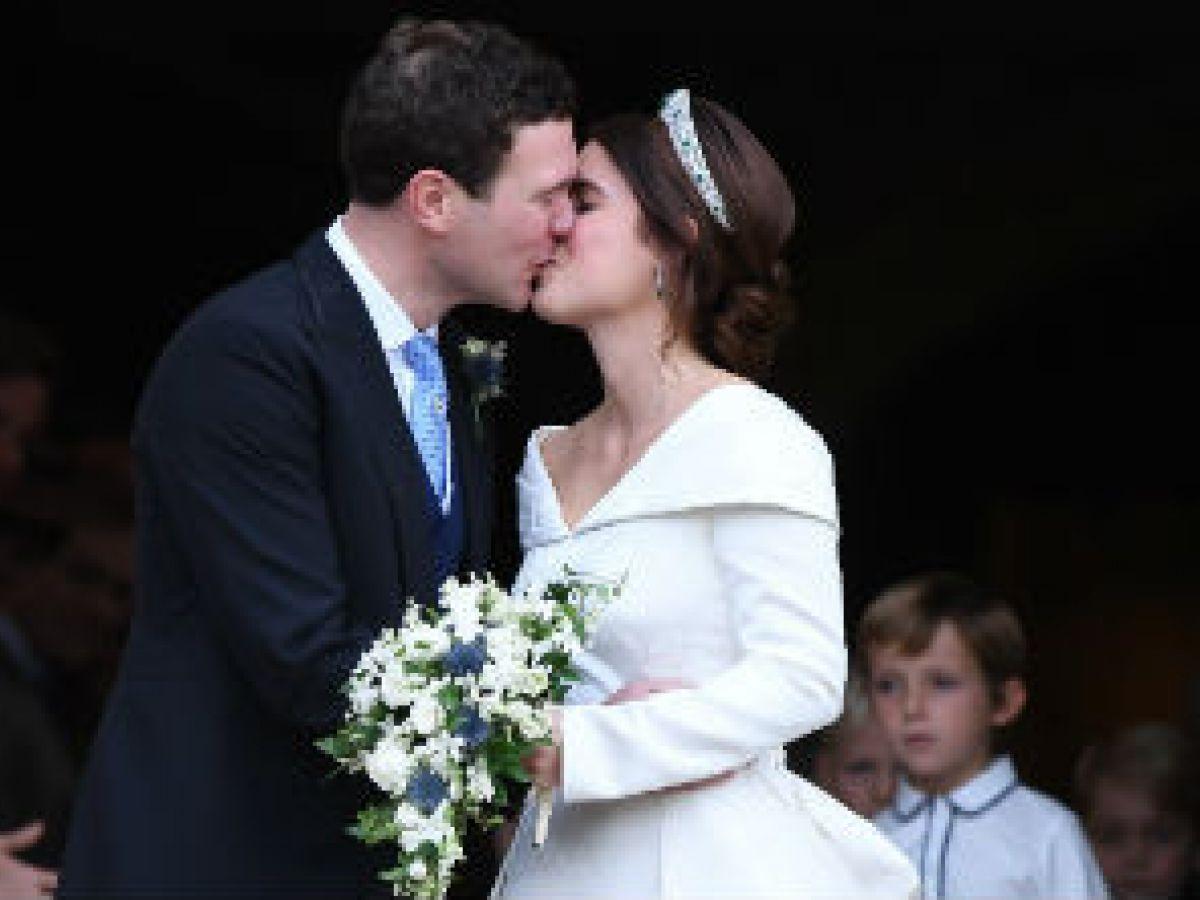 Se casa la princesa Eugenie, nieta de Elizabeth II