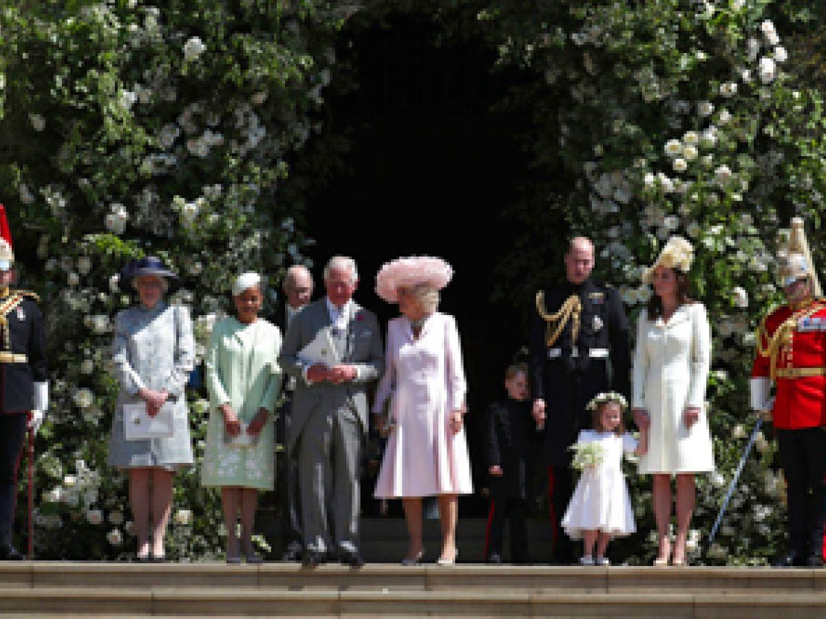 La familia real agradeció a quienes se trasladaron a Windsor por la boda