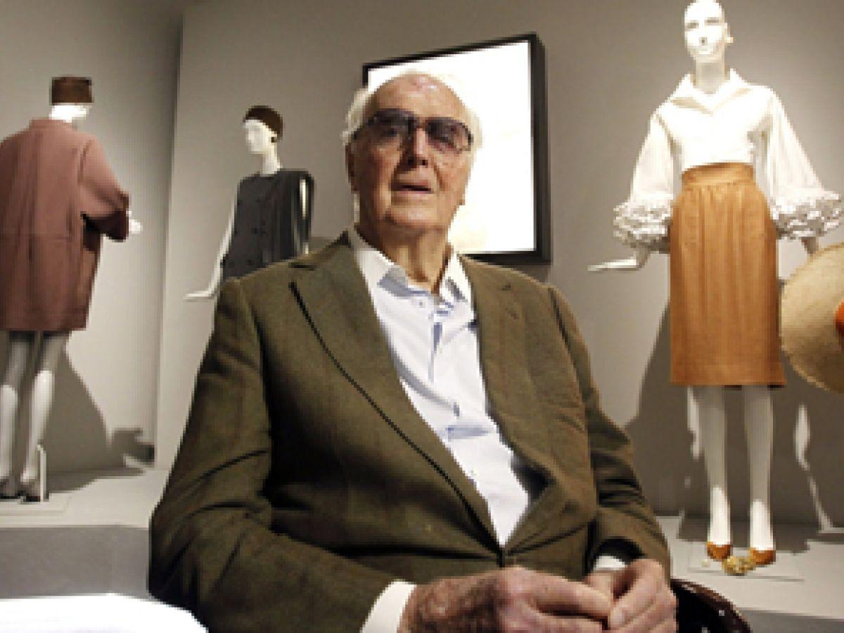 Muere el legendario modisto francés Hubert deGivenchy