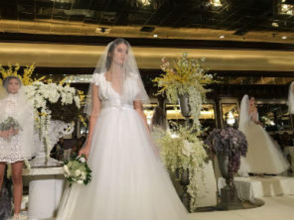 Luis Antonio presenta su colección de trajes de novia