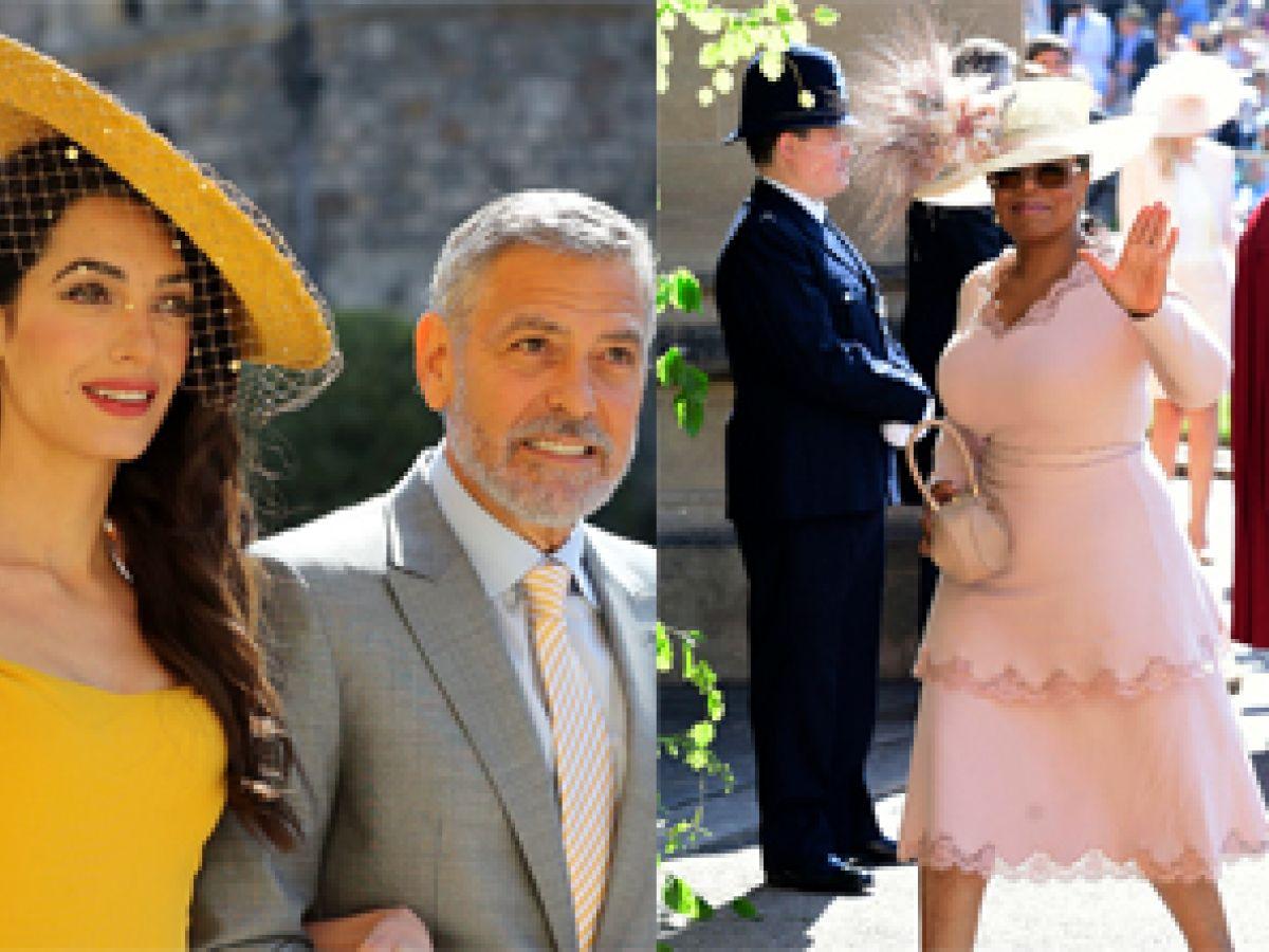 La llegada de los invitados a la capilla de St. George para la boda de Harry y Meghan