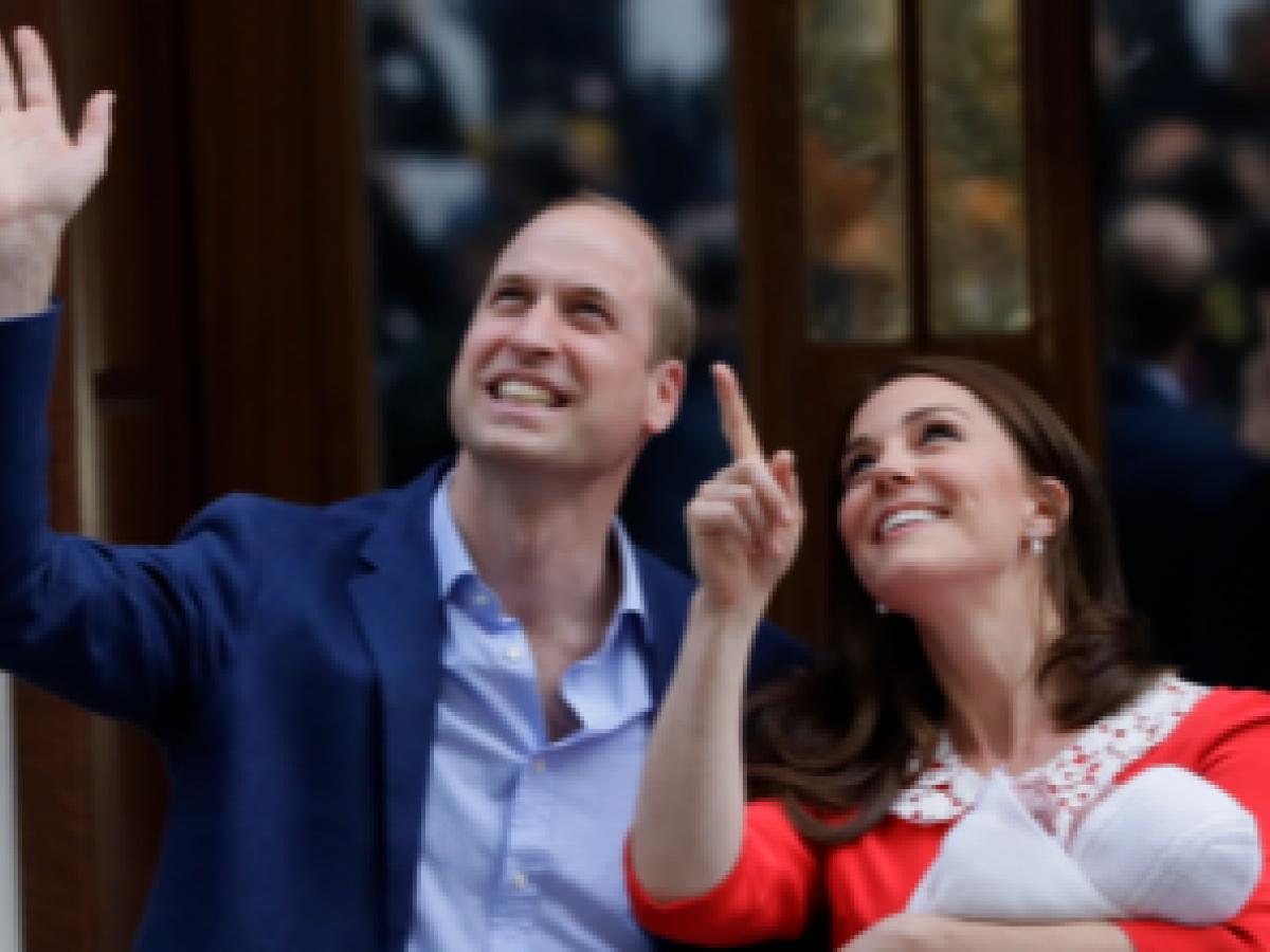 Kate Middleton da a luz a otro varón
