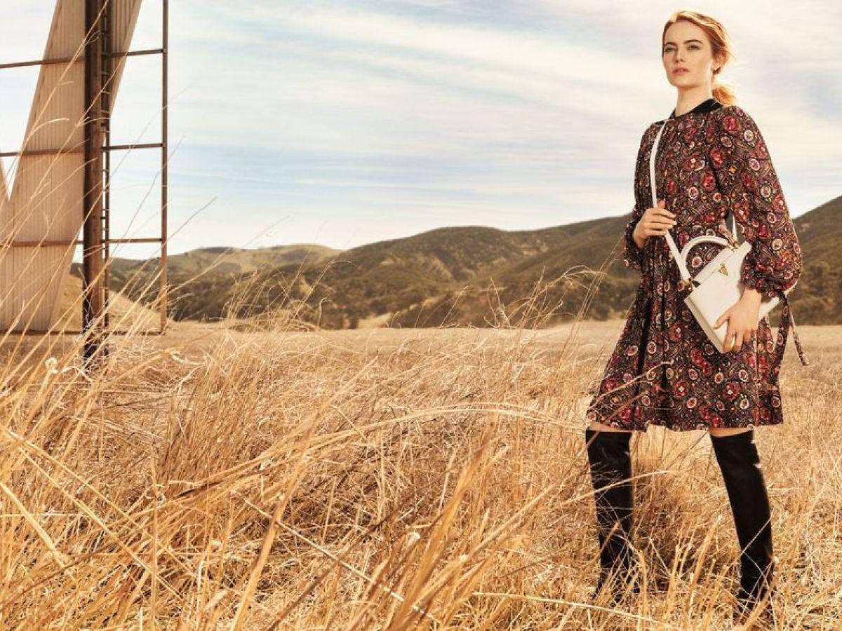 Louis Vuitton presenta su nueva campaña publicitaria protagonizada por Emma Stone