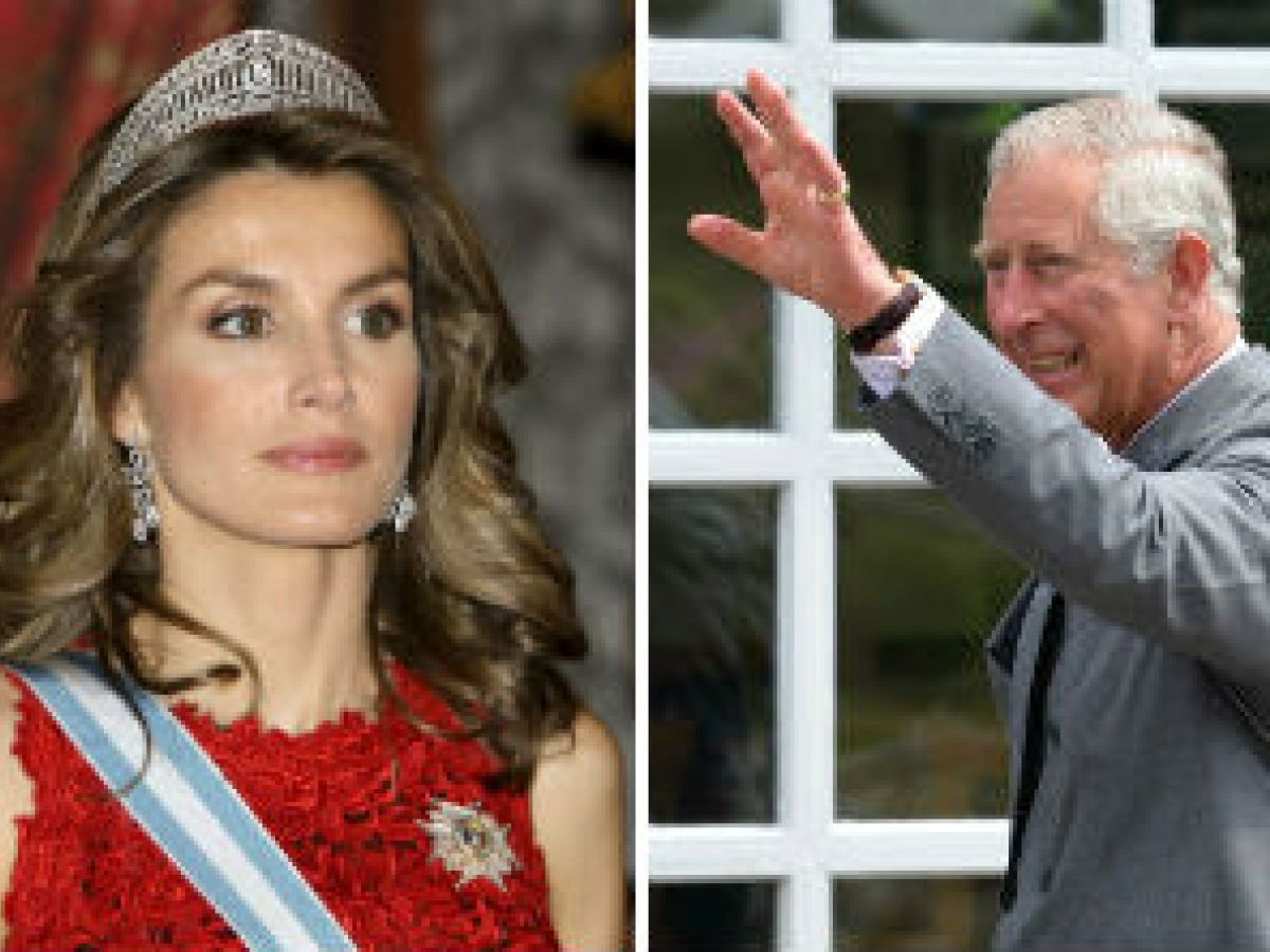 Letizia y Charles tienen una cita la próxima semana