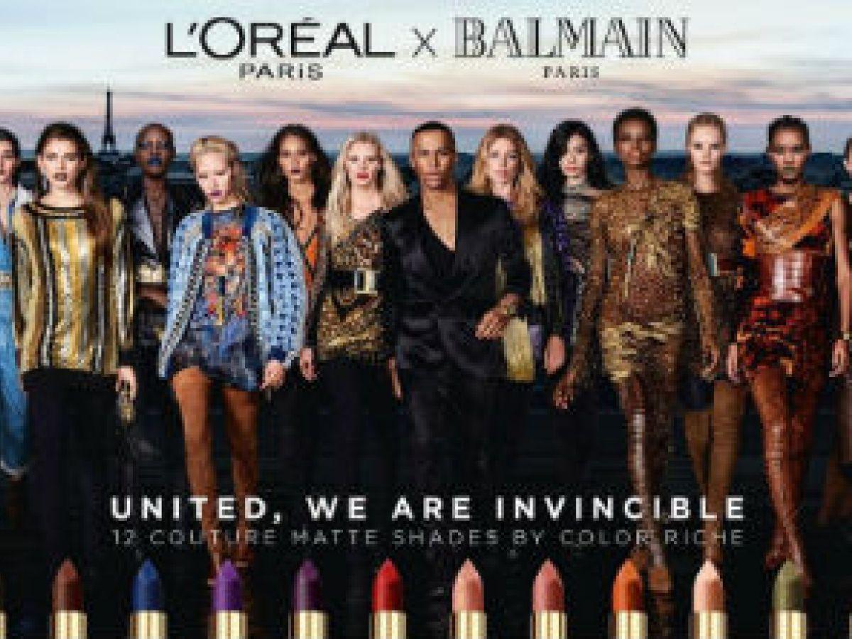 Olivier Rousteing se une a L'Oréal Paris
