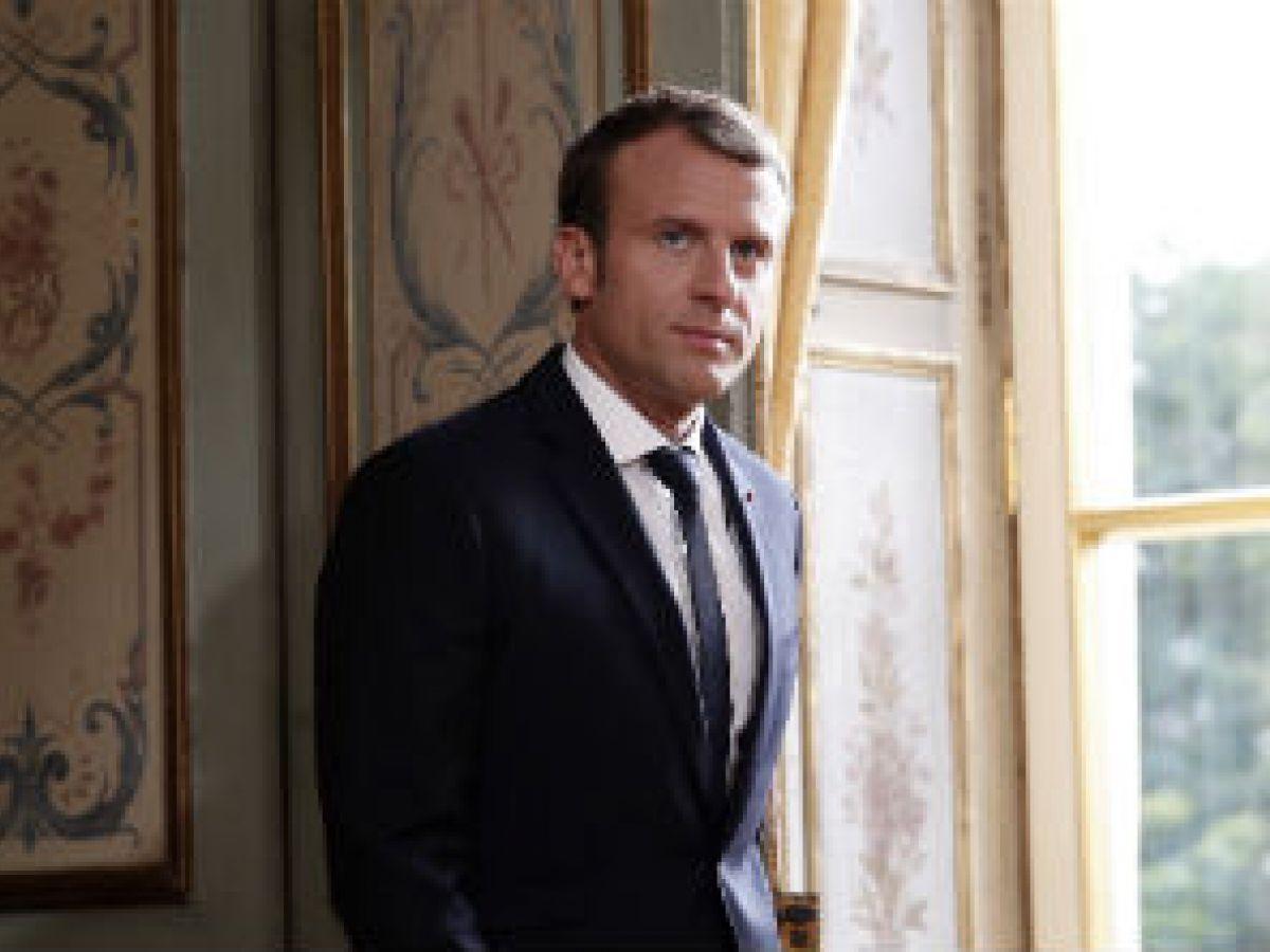"""Macron cambia de sastre para vestir """"made in France"""""""
