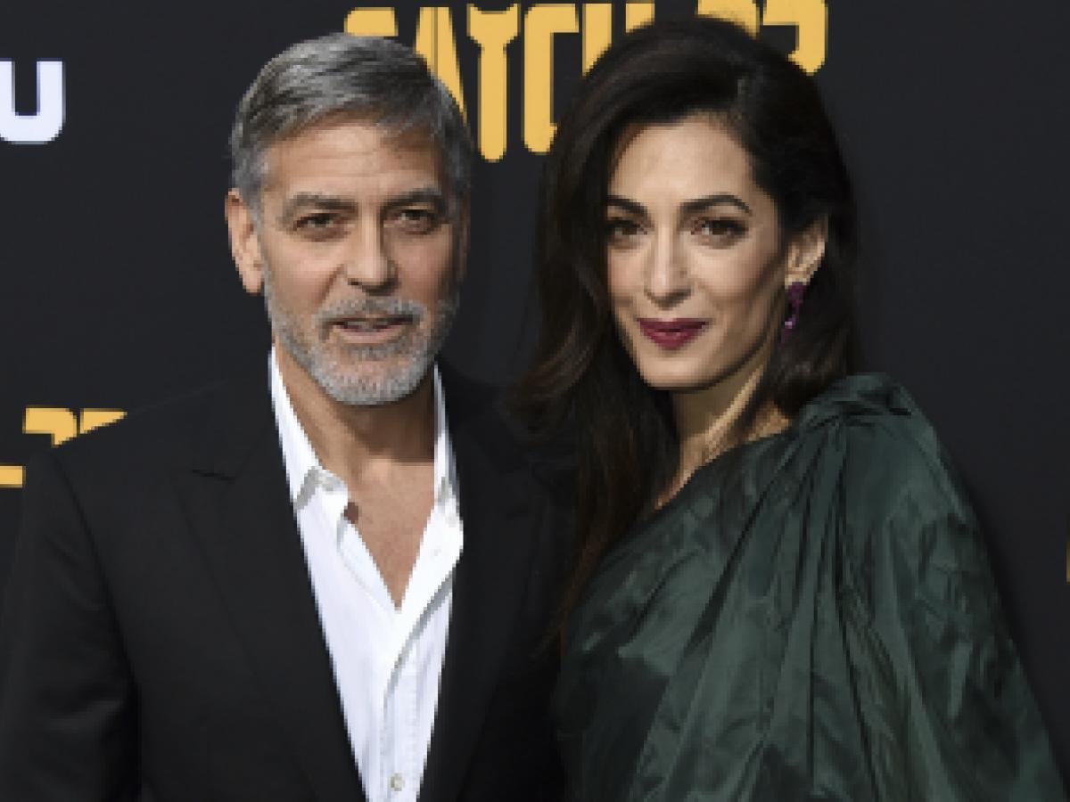 """Clooney espera medios sean """"más amables"""" con Meghan Markle"""