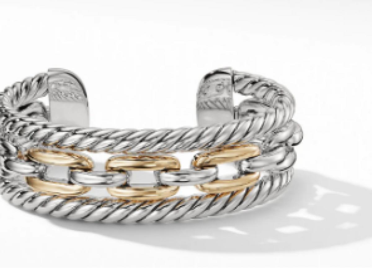 Margarita Álvarez crea piezas de moda inspiradas en la joyería de David Yurman