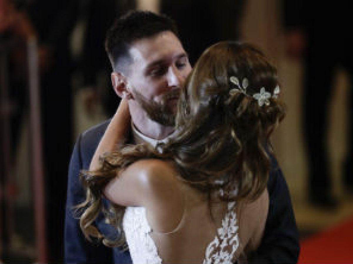 Ya son esposos Lionel Messi y Antonella Roccuzzo