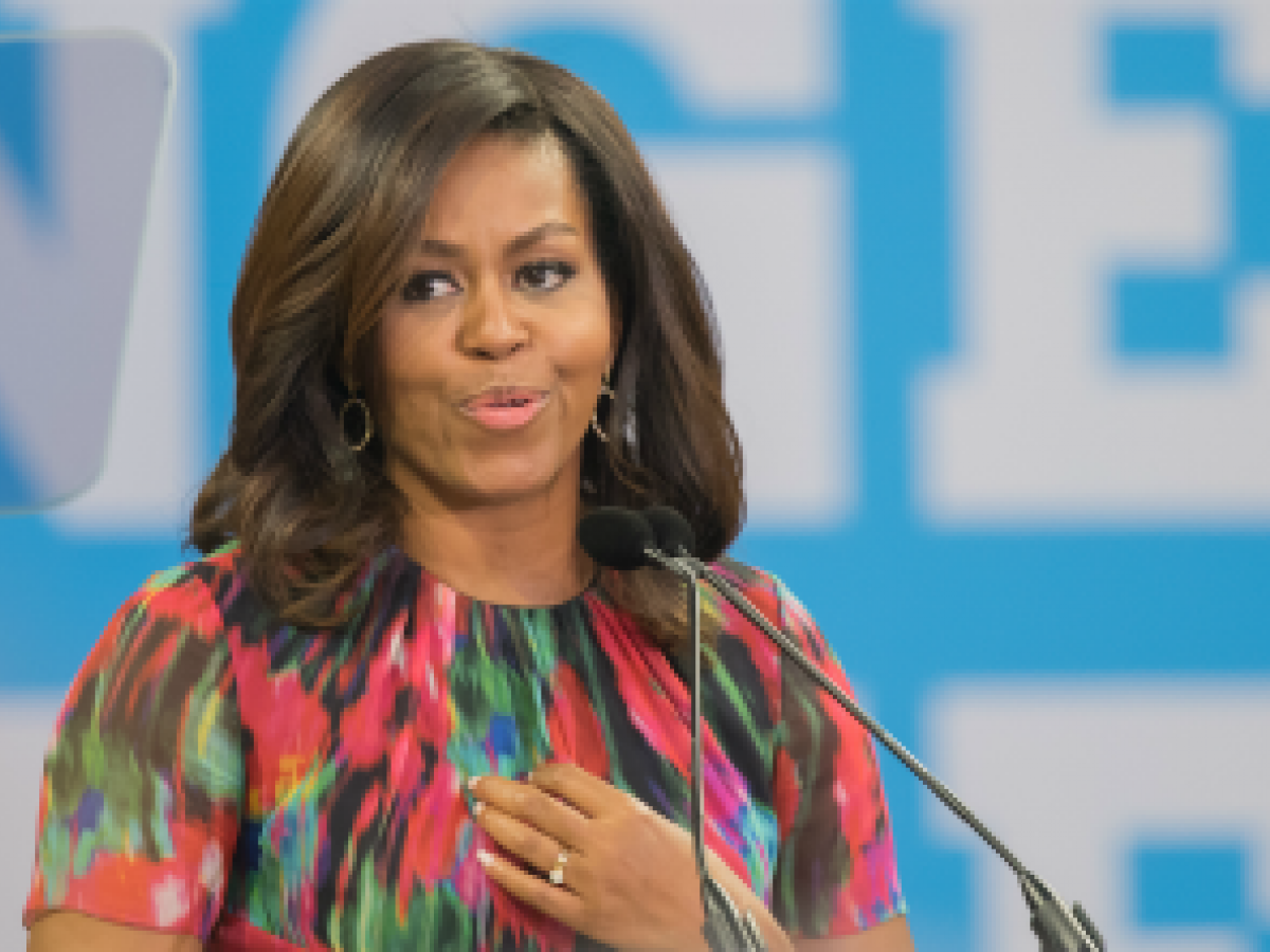 Eligen a Michelle Obama como la mujer más admirada en Estados Unidos