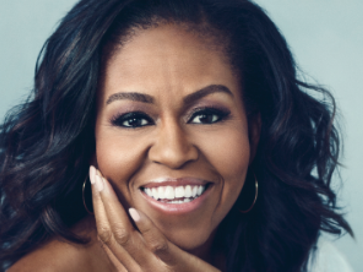 "Michelle Obama devela la portada de su libro ""Becoming"""