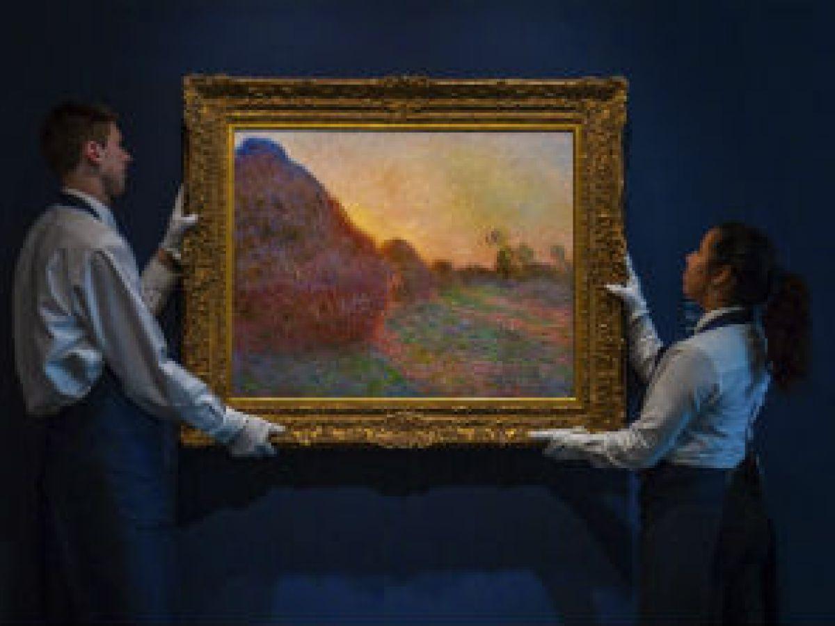 Subastan en $110.7 millones un cuadro de Monet