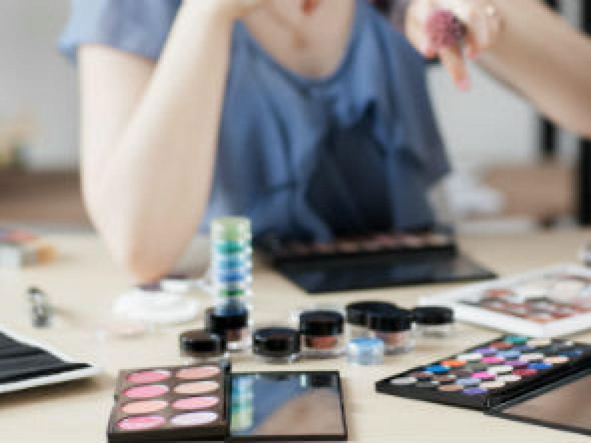 Las paletas de maquillaje están de moda