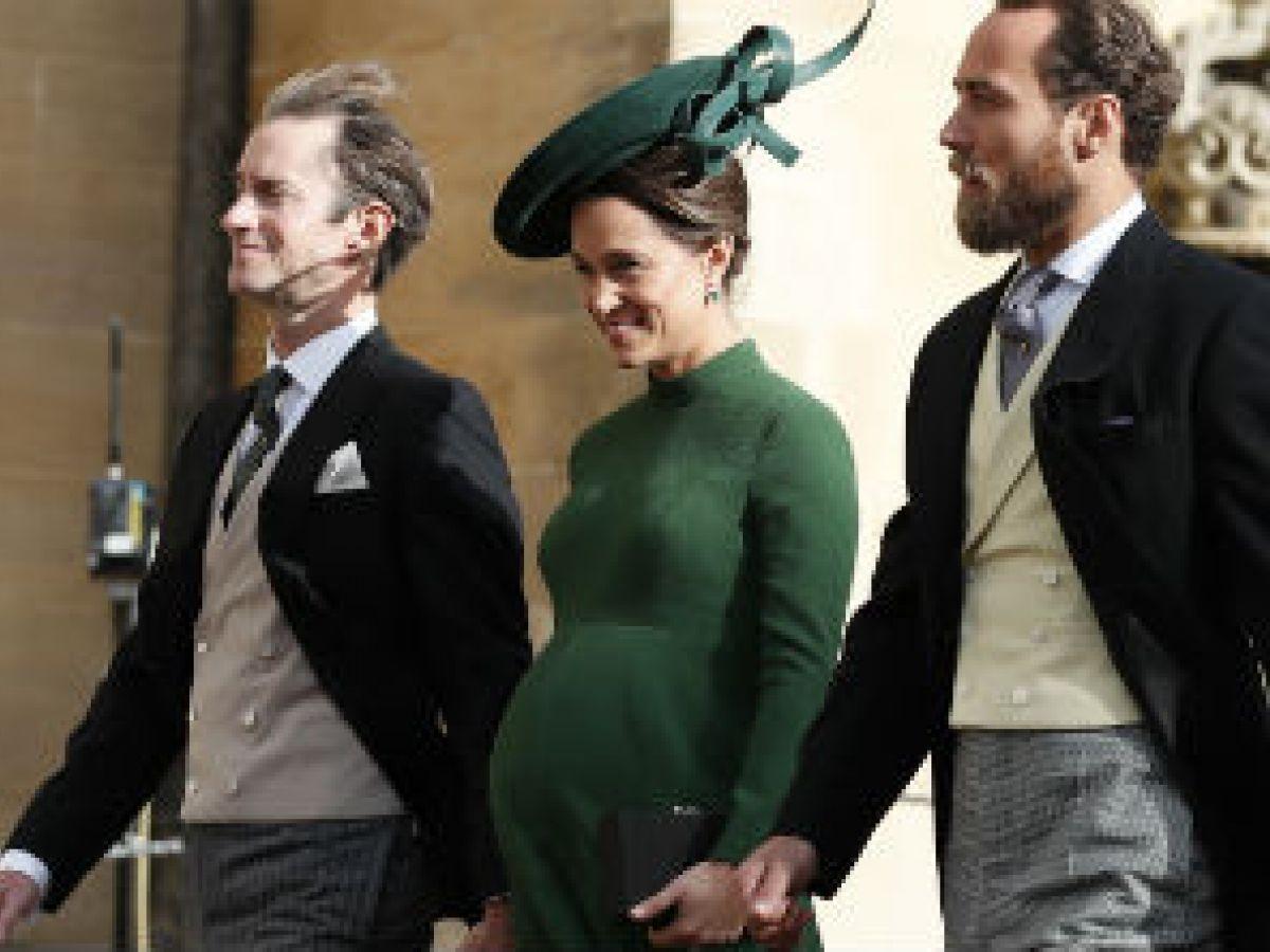 Pippa Middleton dio a luz un varón