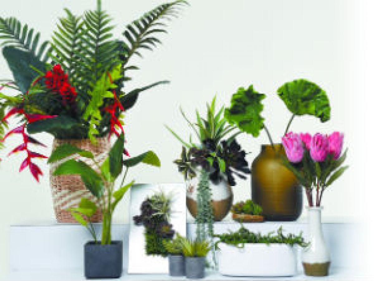 Decora tu casa con plantas artificiales