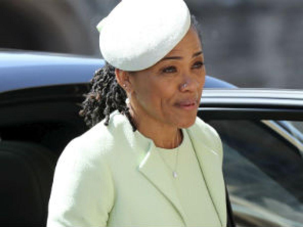La mamá de Meghan ya está en Londres para el nacimiento del bebé real