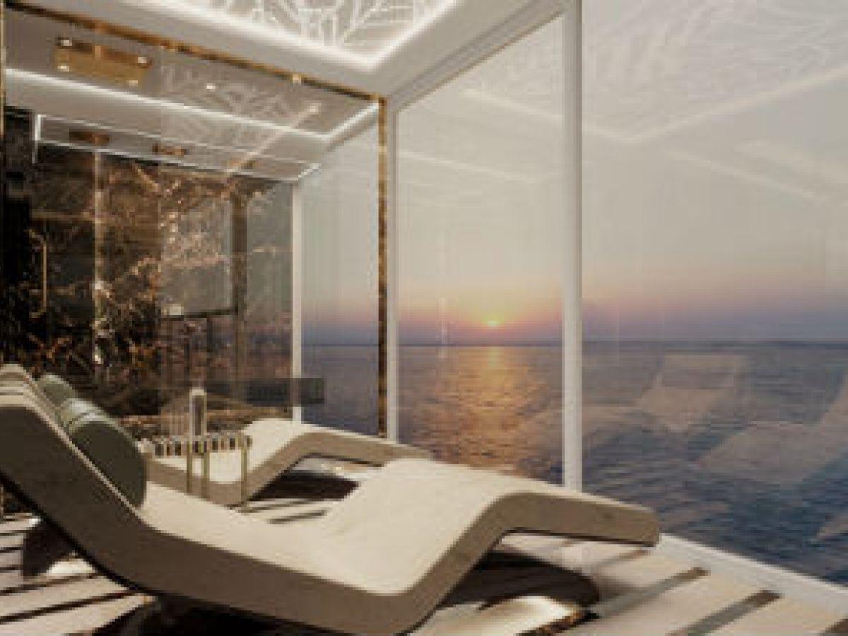 El crucero de lujo, la Regent Suite perfecciona la elegancia