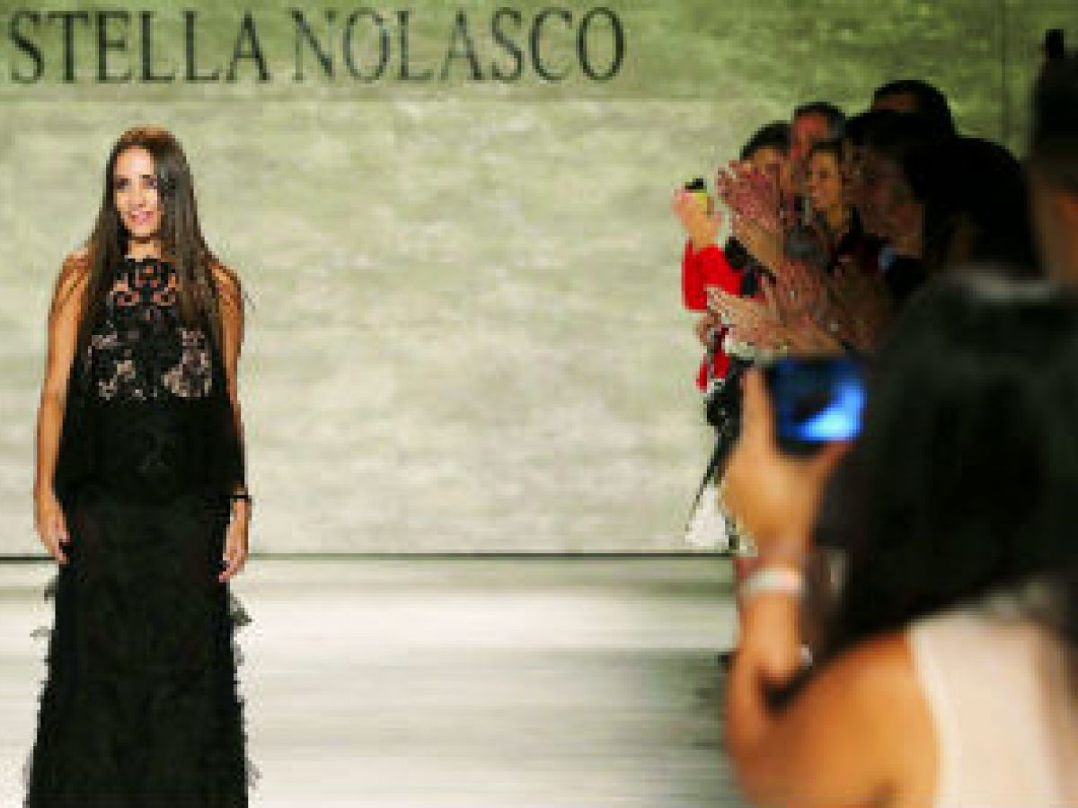 Stella Nolasco denuncia plagio de sus diseños